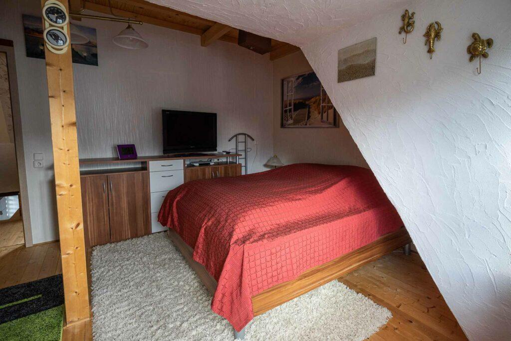 ferienhaus nordsee hund toenning schlafzimmer